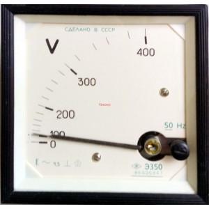 Вольтметр Э350