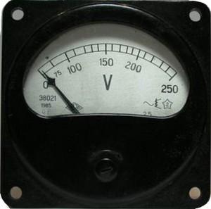 voltmetr E8021