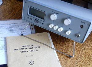 рН 150 рН-метр милливольтметр рН-150